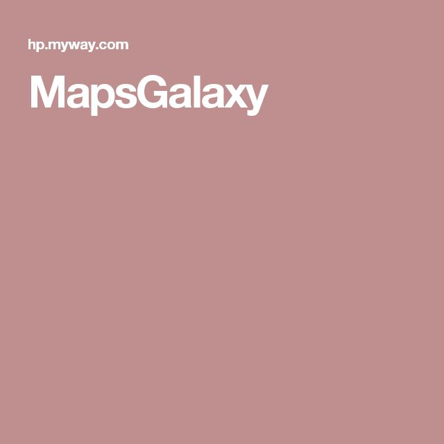 MapsGalaxy