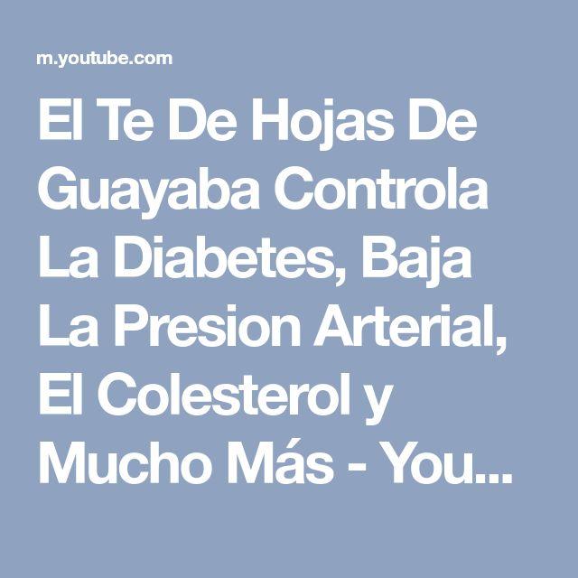 El Te De Hojas De Guayaba Controla La Diabetes, Baja La Presion Arterial, El Colesterol y Mucho Más - YouTube