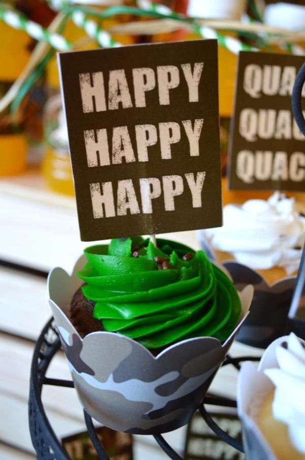 duck dynasty birthday party supplies | Duck Dynasty Themed birthday party via Kara's Party Ideas ... | Cakes