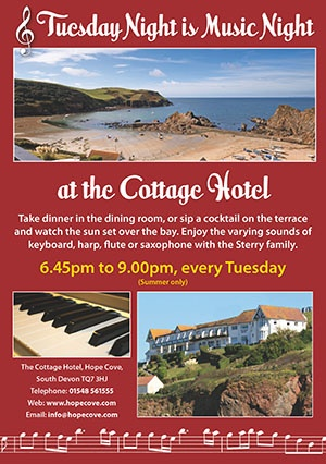 Tuesday Night is Music Night!  http://hopecove.com