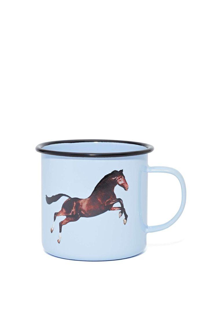 Seletti Wears Toiletpaper Mug - Horse | Shop What's New at Nasty Gal