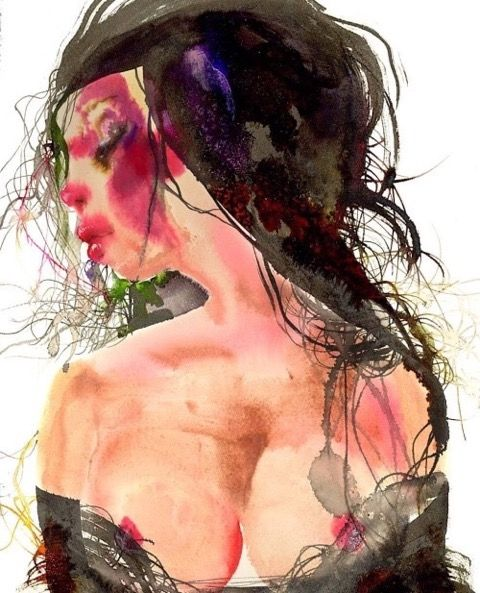 DAVID CHOE watercolor