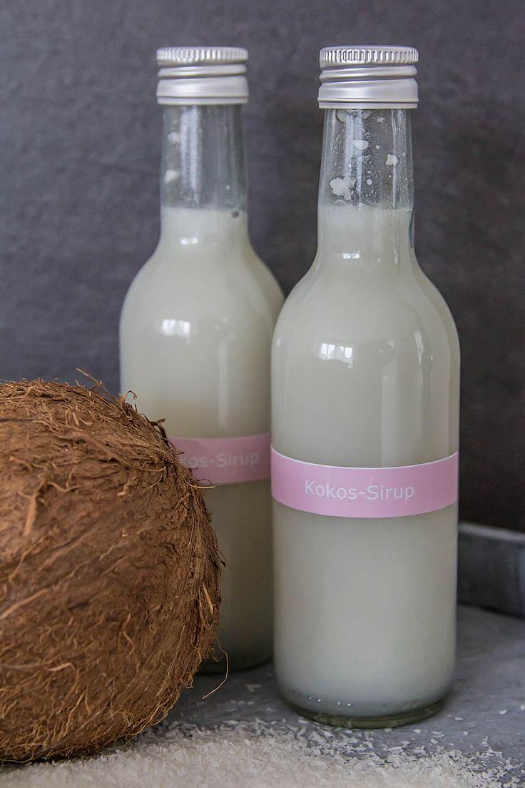 cremiges Kokossirup