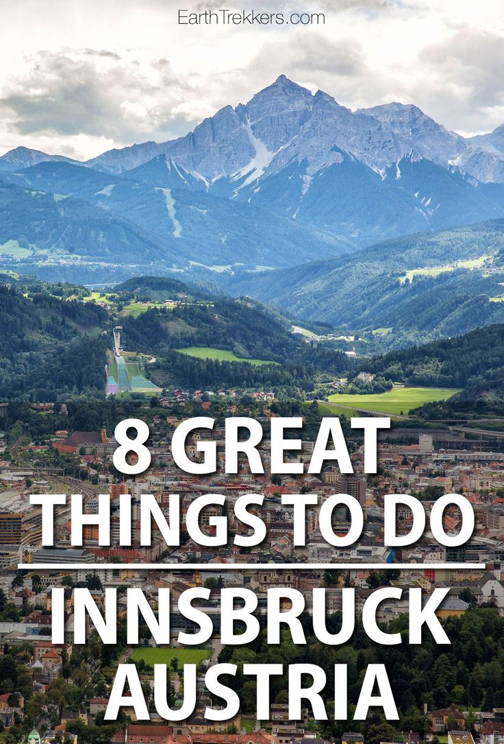 Innsbruck, Austria: 8 great things to do. Ride the Nordkette cable car, visit the Bergisel Ski Jump, and tour the Old Town.
