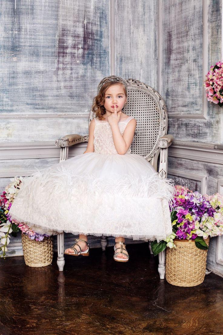 #Whitesnow #flake #organza #dress #ostrichfeathers  #lace #embroidery