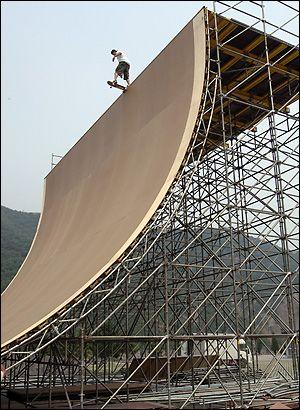 What a BIG ramp!!!