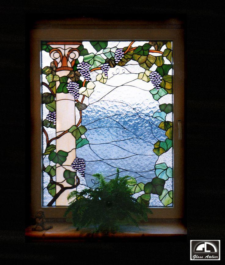 #okna #stainedglass #witraże #glassatelier