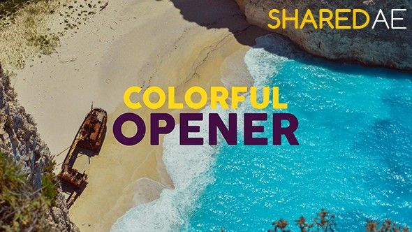 Videohive - Colorful Opener 19529371 - Free Download
