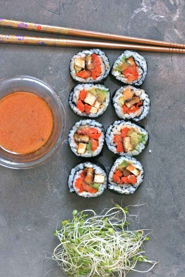 5 Non-Traditional Veggie Sushi Recipes You'll Absolutely Love