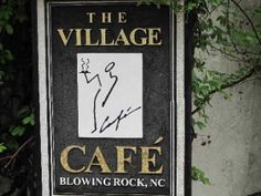 The Village Cafe, Blowing Rock, NC-Blowing Rock NC restaurants