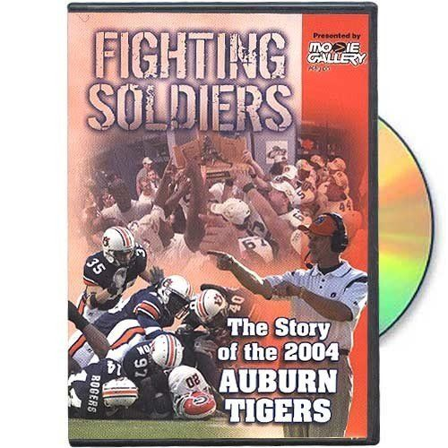 Auburn Tigers Fighting Soldiers: The Story of the 2004 Auburn Tigers DVD by Football Fanatics. $19.50. Officially licensed NCAA product. The complete story of the undefeated SEC Champions and the only team in Auburn football history to win 12 games in a single season. This DVD contains game video, radio calls, interviews and other bonus features.Officially licensed NCAA product