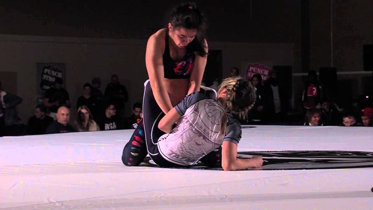 Rosi Sexton vs Vanessa English in their NoGi, 20 minute, Submission only match at Tuff Invitational