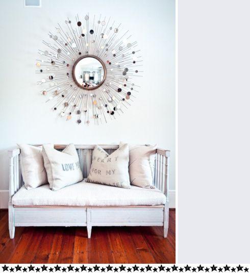 Espejos decorativos con forma de sol espejos pinterest for Espejos decorativos dormitorio
