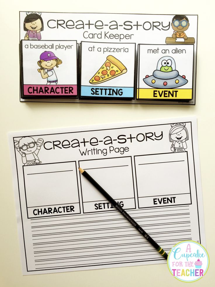 Inspire your students and cure writer's block with TONS of possible story combinations!