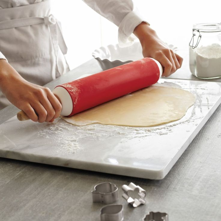 """Sur La Table® White Marble Pastry Board, 16"""" x 20""""   Sur La Table"""