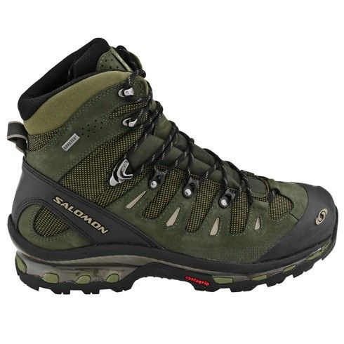 Salomon Quest 4D GTX Hiking Boots- OD Green / Black Footwear - Tactical Distributors- Tactical Gear