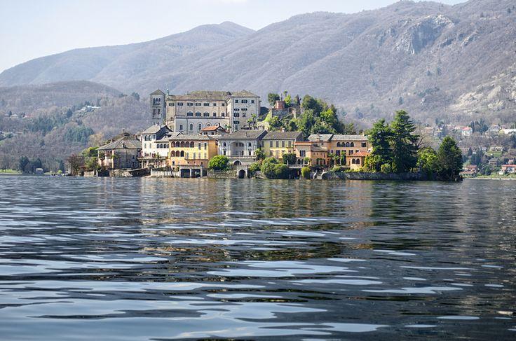 San Giulio Island, Lake Orta   #italy #travel www.culturalitaly.com