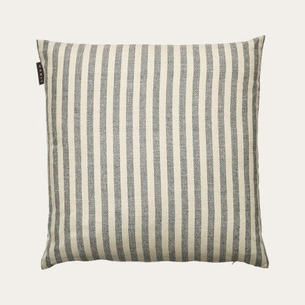 Pirlo Cushion Cover - Dark Charcoal Grey | Cushion covers | Living | Spring | Linum