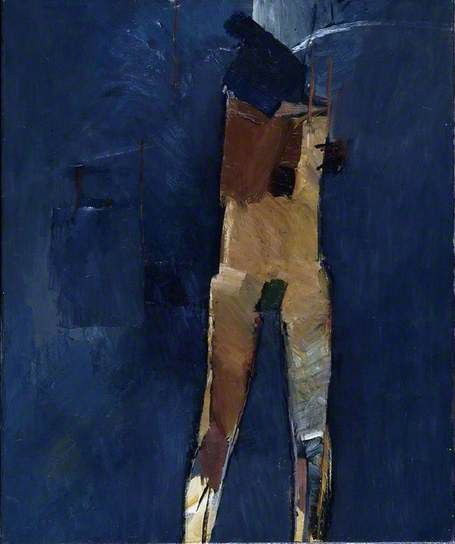 Standing Figure by John Keith Vaughan Date painted: 1960 Oil on canvas, 76 x 63.3 cm