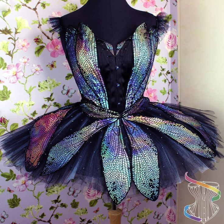 "2,202 Likes, 39 Comments - Joni Steinmann (@rainbowcurvecorsetry) on Instagram: ""As requested another picture of the dragonfly dreams costume. #corsetry #corset #ballet #tutu…"""