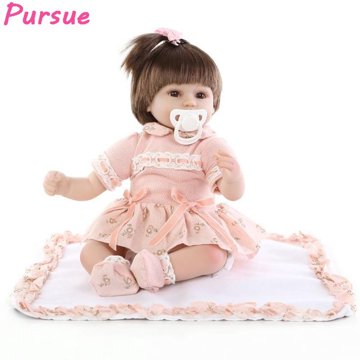 Pursue 100 Silicone Reborn Babies Silicone Baby Dolls for Sale Dolls for Girls Reborn Doll bebe reborn menina de silicone menina
