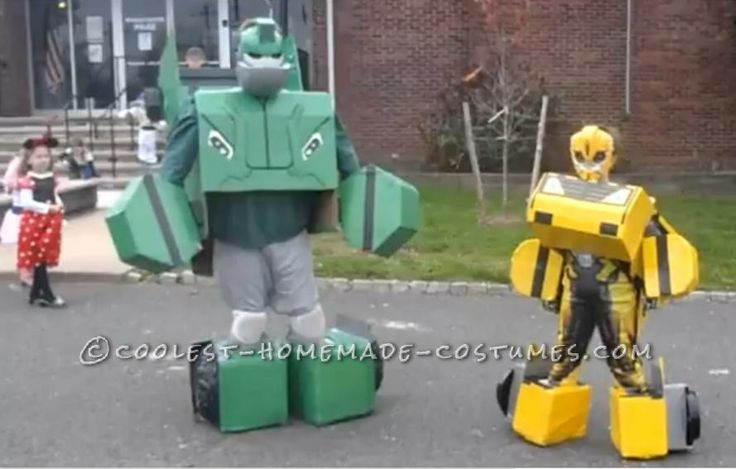 how to make a transformer costume that transforms