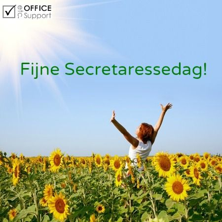 Fijne secretaressedag