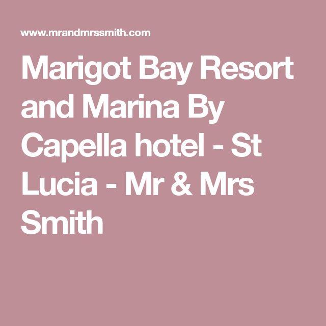 Marigot Bay Resort and Marina By Capella hotel - St Lucia - Mr & Mrs Smith