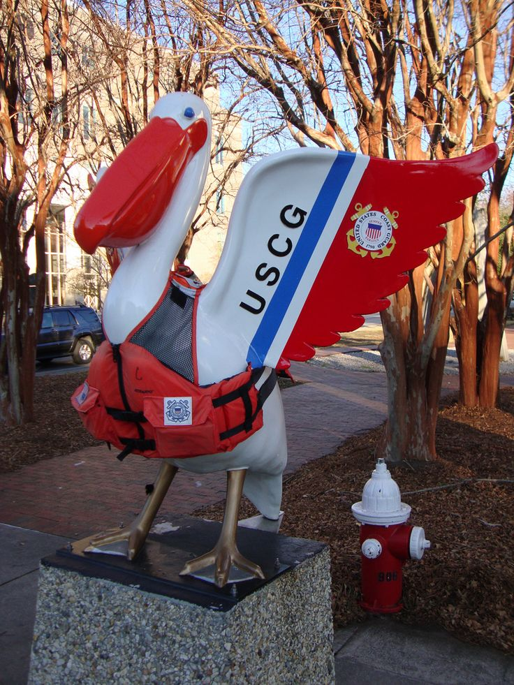 USCG Pelican Statue (Pensacola, Florida) | by ...