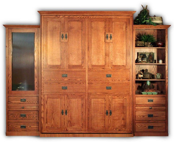 Superb American Craftsman Murphy Bed Style