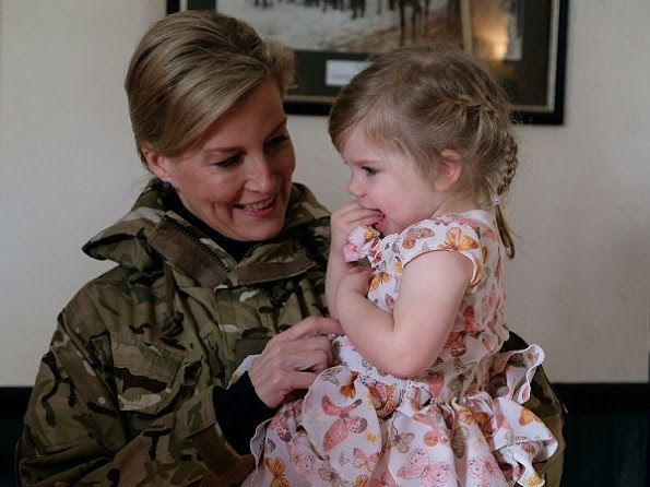 On January 11, 2017, Countess Sophie of Wessex as Royal Colonel of the 5th Battalion The Rifles visited Ward Barracks and Bulford Camp in Salisbury. The Countess visited the barracks in Salisbury to open the Corporals Mess and met with family members.
