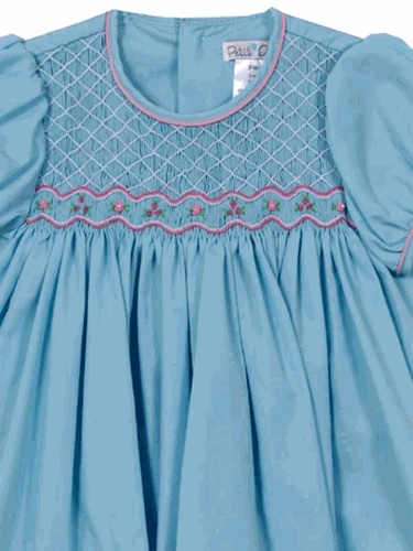 Unique Smocked Clothing, Baby Clothing, Baby Gifts, Top Baby Boutique. Find | Buy | Shop | Compare | ShopThatStore.com - Petit Ami Rose Petals Smocked Dress