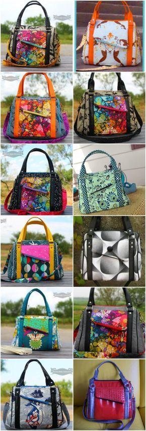 444 best Nähen Taschen images on Pinterest | Bags, Handbags and Sew bags