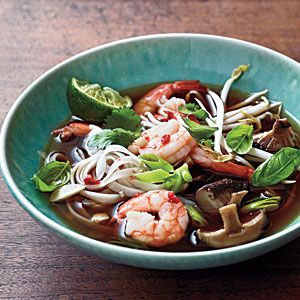 Spicy Shrimp Noodle Soup Recipe