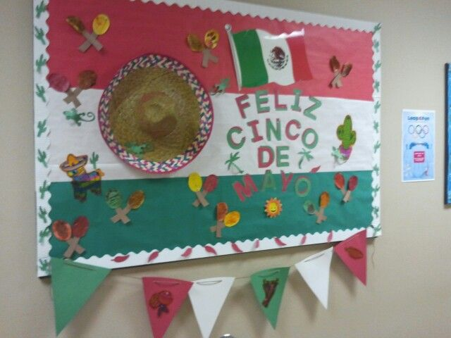 Cinco de mayo bulletin board by tammy erwin
