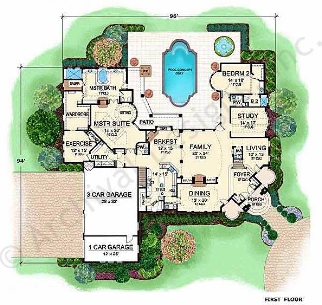 Award Winning Texas House Plans: 78+ Images About Home - Floor Plan On Pinterest
