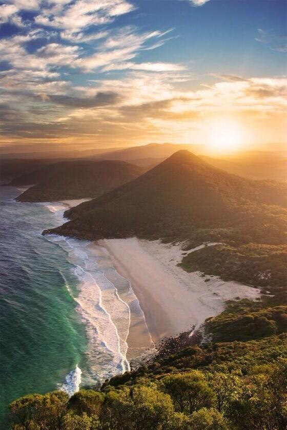 Zenith Beach, New South Wales, Australia - photo ©Rhys Pope