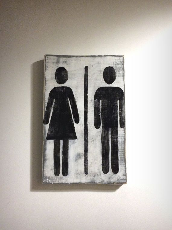 Bathroom Signs Male Female 17 terbaik ide tentang male and female signs di pinterest