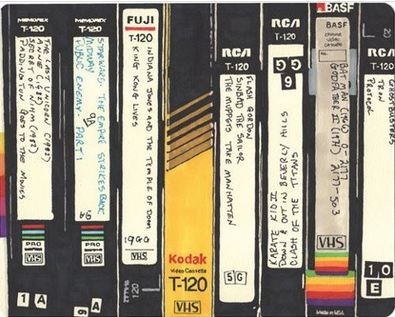 Remember when our movie collections looked like this?
