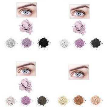 Идеальным считается сочетание глубоких голубых глаз с различными бледно-розовыми, либо серебристыми, а так же пастельными фиолетовыми либо золотистыми оттенками теней. Очень неплохо на голубых глазах просматриваются светлые серо-коричневые, а так же более глубокие сиреневые тона либо же тона жемчужного цвета.
