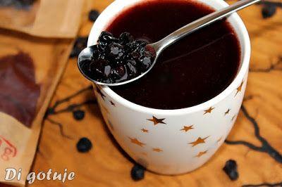 Di gotuje: Domowy kisiel z suszonej czarnej porzeczki