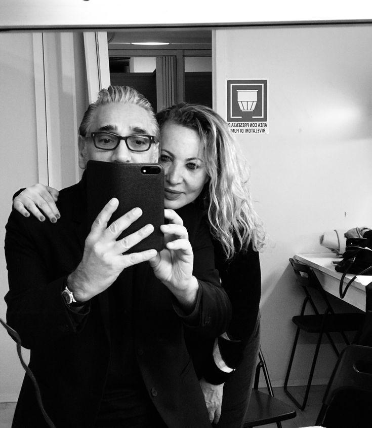 Novembre 2017 Monza camerino del teatro con Iaia Forte