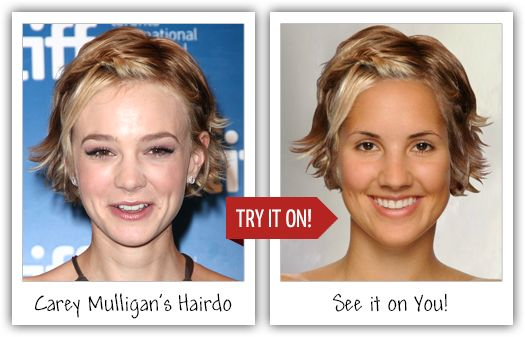 TAAZ Virtual Makeover – Change your hair color or try on celebrity hairstyles and makeup brands!