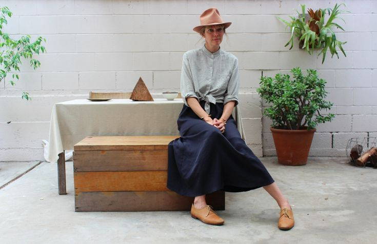 Tomboy Style: UNIFORM | Jesse Kamm trunk, outift, love everything in this photo