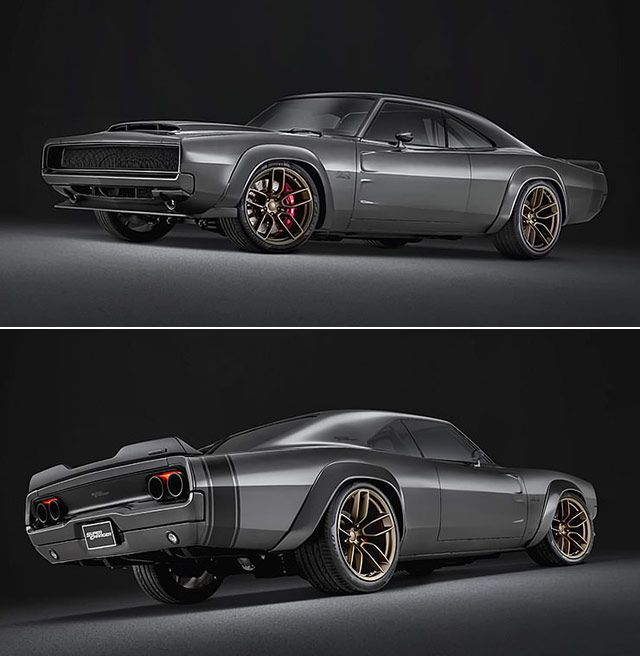 Mopar's Insanely 1,000 hp 'Hellephant' Crate Engine Roars In 1968 Charger Patricia Ann