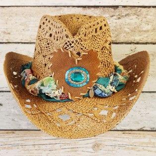 Sadeza - blue stone - hat