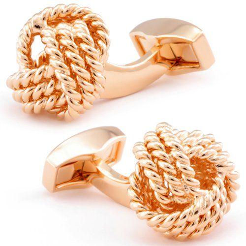 maxi dress knot cufflinks