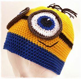 Nur nicht den Faden verlieren: Freebook: Minion-Mütze aus Baumwollgarn