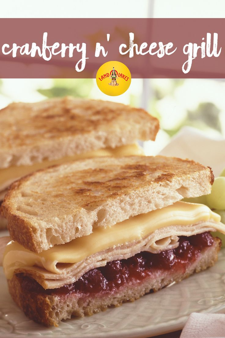 Turkey leftovers get new life in this grilled sandwich recipe. Horseradish zips up the cranberry sauce topping.