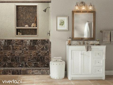 Ta sama przestrzeń, a tyle możliwości! Wszystko to wyłącznie za sprawą różnych wariantów płytek ceramicznych.  #Viverto #inspiracja #płytki #tiles #przestrzeń #design #dizajn #trendy #style #metamorfoza #moda #perfect #łazienka #bathroom